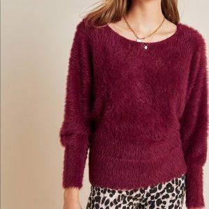 NWT Anthropologie Ember Eyelash Sweater E